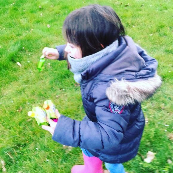La chasse aux œufs avec les cousins